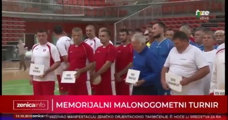 """Memorijalni turnir vatrogasaca u malom nogometu """"Munir Pojskić i Sanel Vranić"""""""